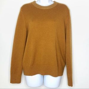 Gap Sweater with Gold Trim Collar Size Large